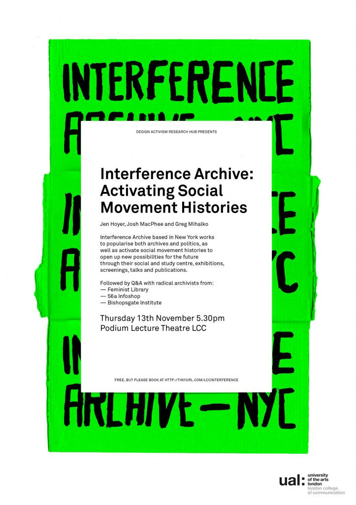 Interference Archive: Activating Social Movement Histories