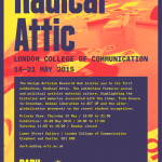 Radical Attic – Exhibition at LCC