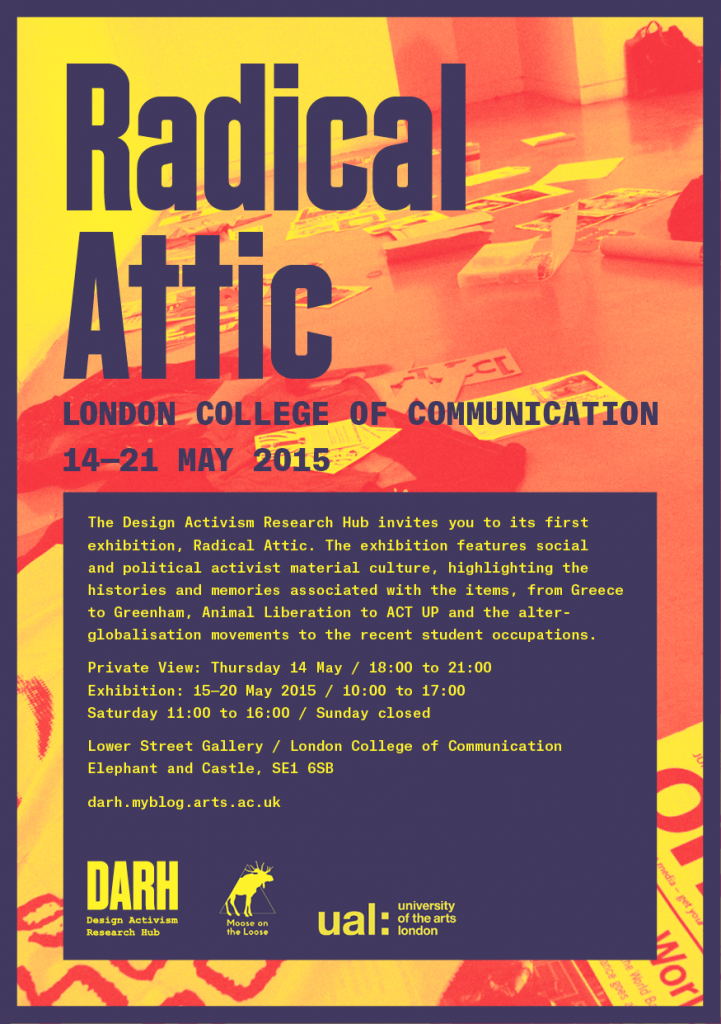 Radical Attic - Exhibition 14-20th May 2015